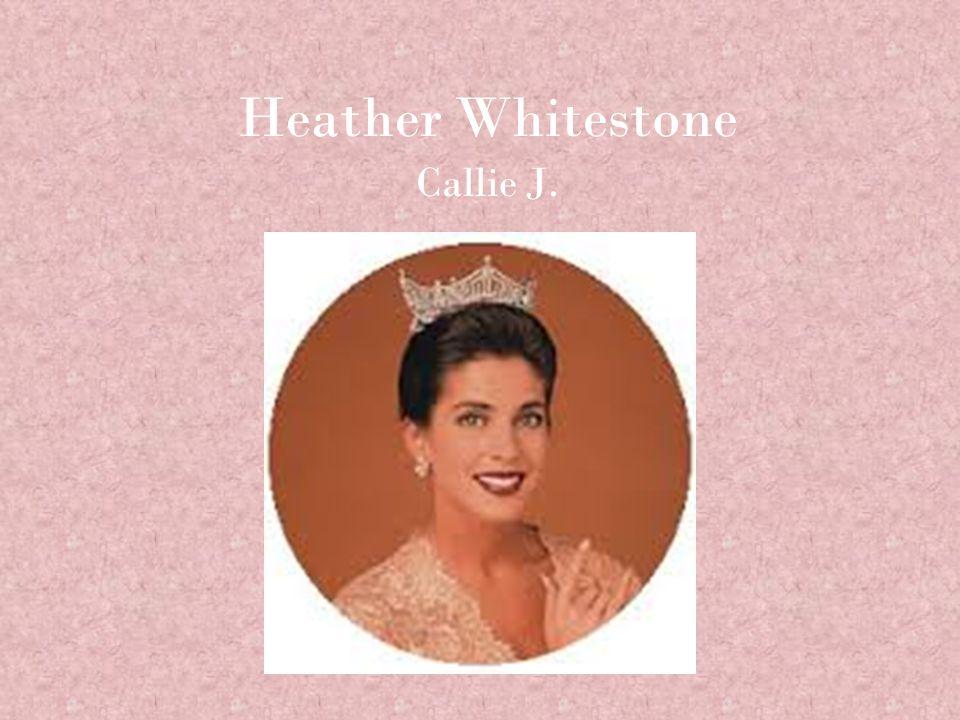 who is heather whitestone