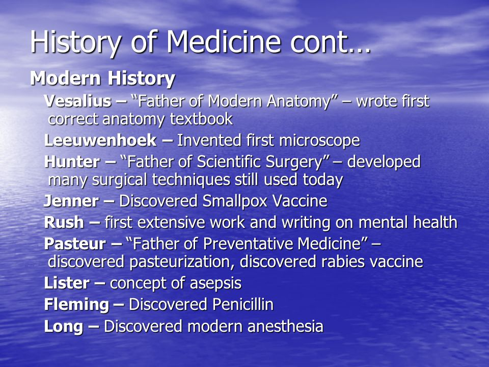 history of medicine as well as In ayurvedic medicine, silver is used in small amounts as a tonic, elixir or rejuvenative agent for patients debilitated by age or disease silver re-discovered not until the late 1800's did western scientists re-discover what had been known for thousands of years - that silver is a powerful germ fighter.