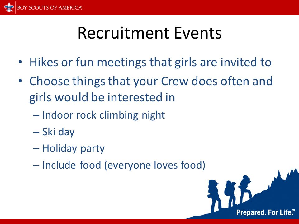 How to Recruit Girls