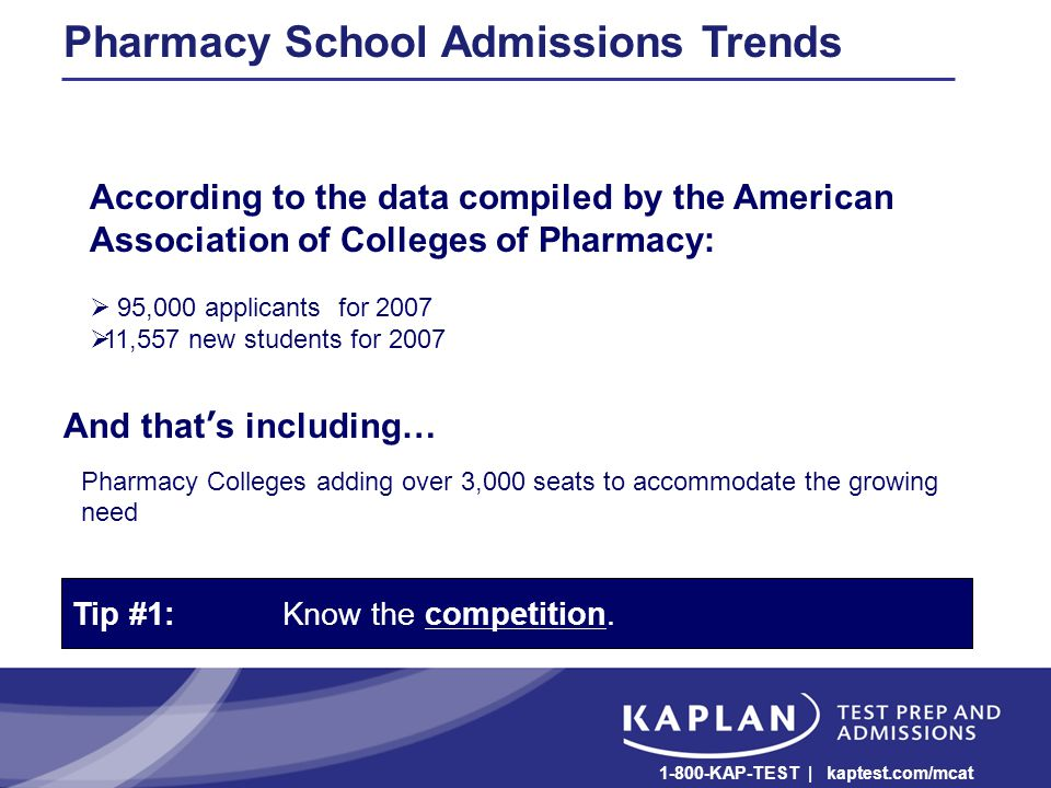 The Dos & Don'ts of Pharmacy School Admissions Todd Worsham Campus