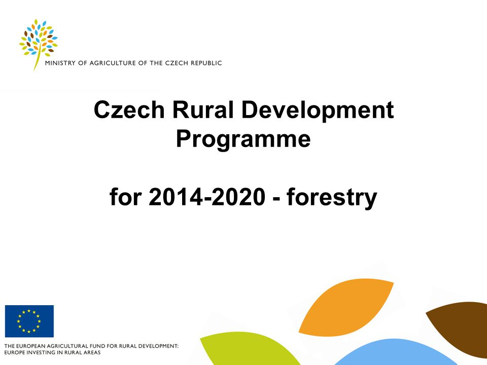 Czech Rural Development Programme for forestry