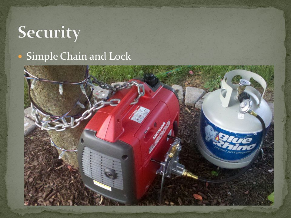Simple Chain and Lock