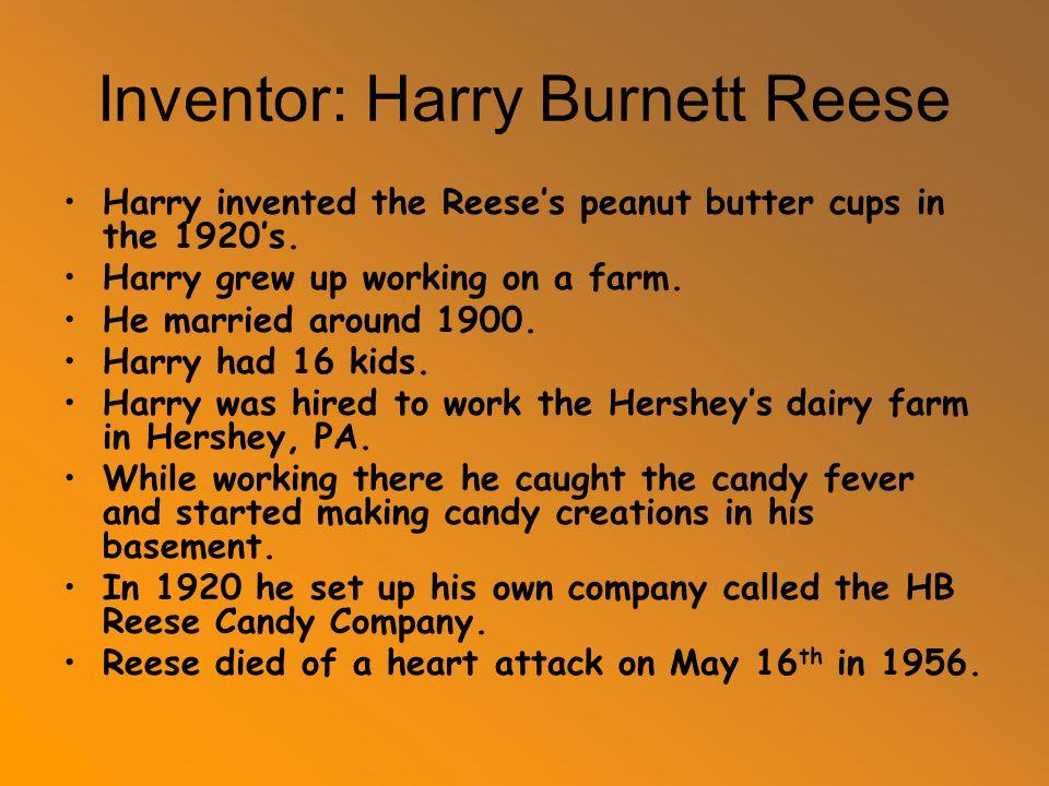 harry burnett reese