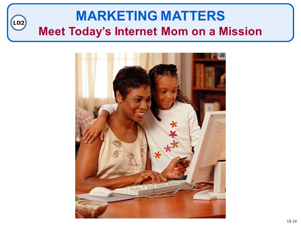 MARKETING MATTERS Meet Today's Internet Mom on a Mission LO
