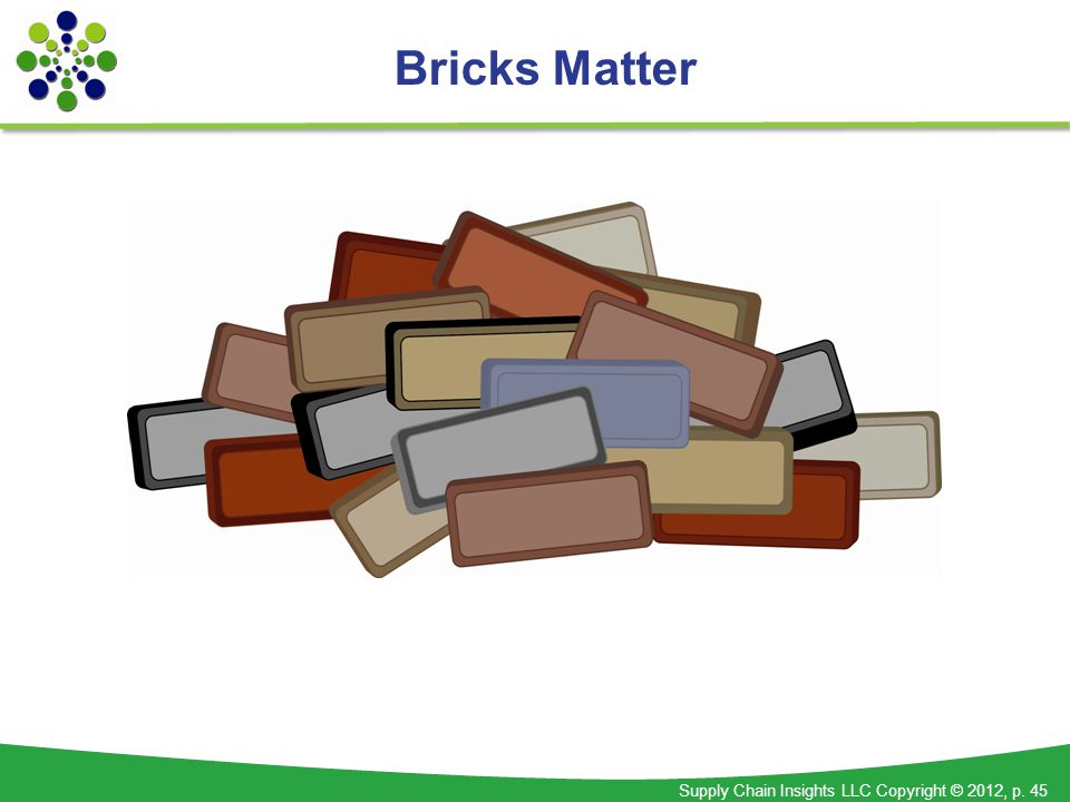 bricks matter the role of supply chains in building marketdriven differentiation