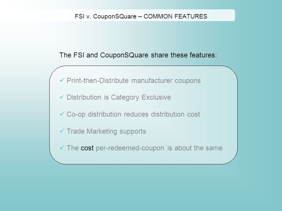Manufacturer Coupons Mail >> Couponsquare Is A Co Op Envelope Of Targeted Category Exclusive