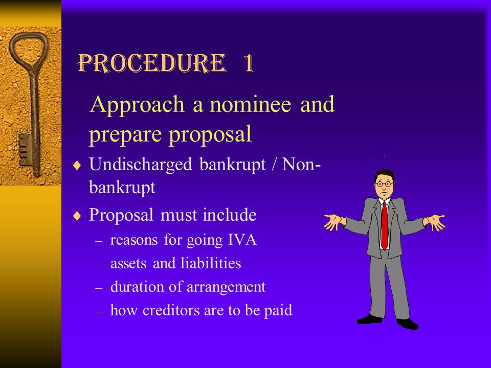 Presented By Mr Michael Cheung What Is An Iva A Voluntary