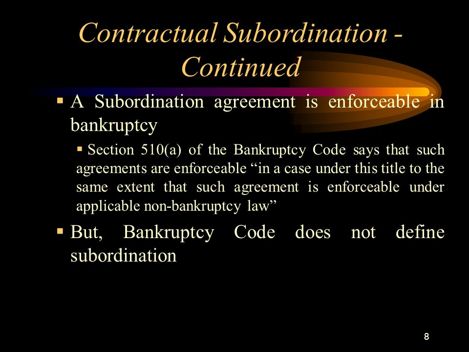 Factoring Conference Subordination 101 All A Factor Ever Wanted To