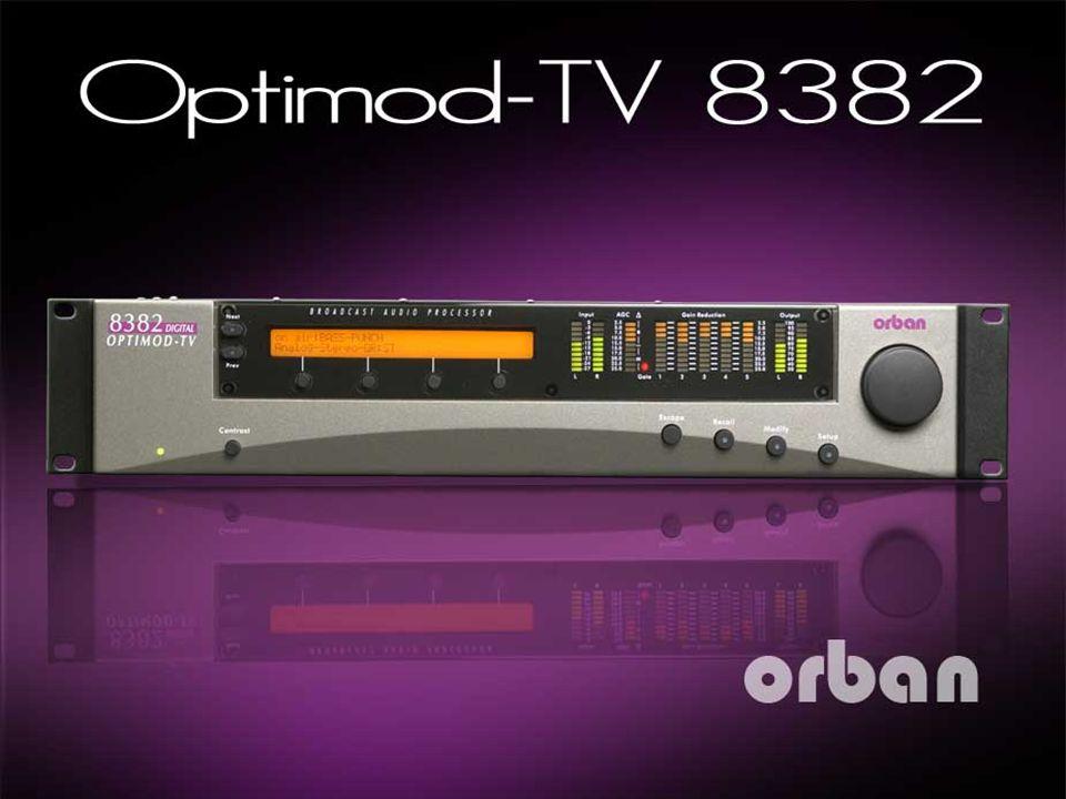 2 OPTIMOD-TV 8382 The all-digital OPTIMOD-TV 8382 Audio