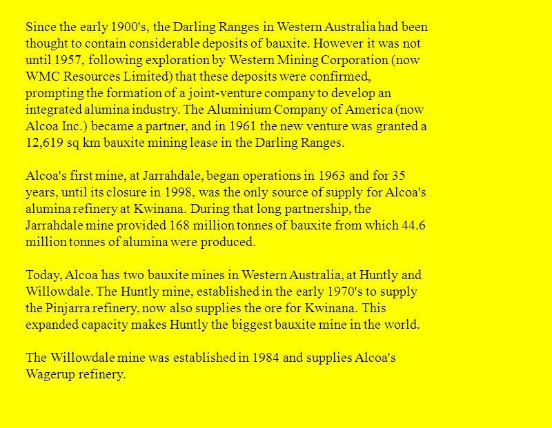 Mining in Western Australia  The Western Australian mining