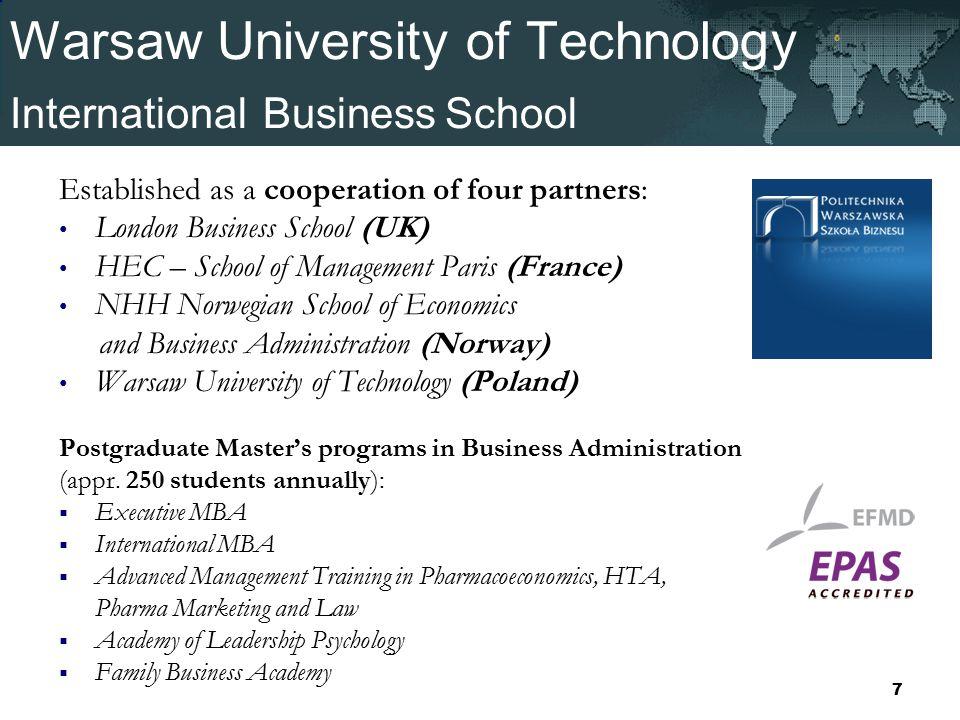 Warsaw University of Technology. Warsaw University of Technology ...