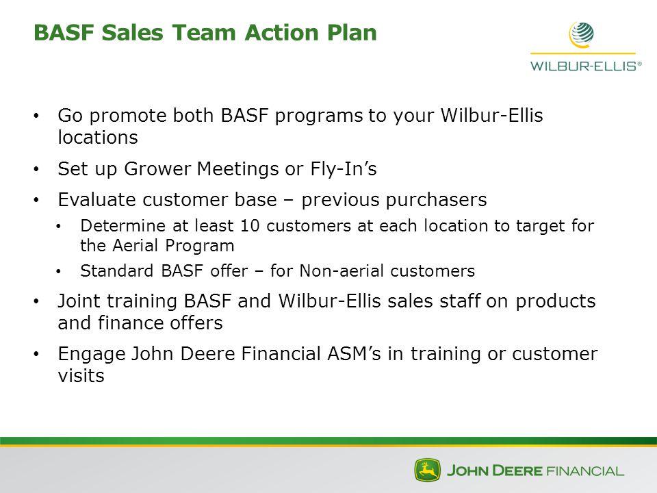 Wilbur-Ellis, BASF and John Deere Financial Sales Finance