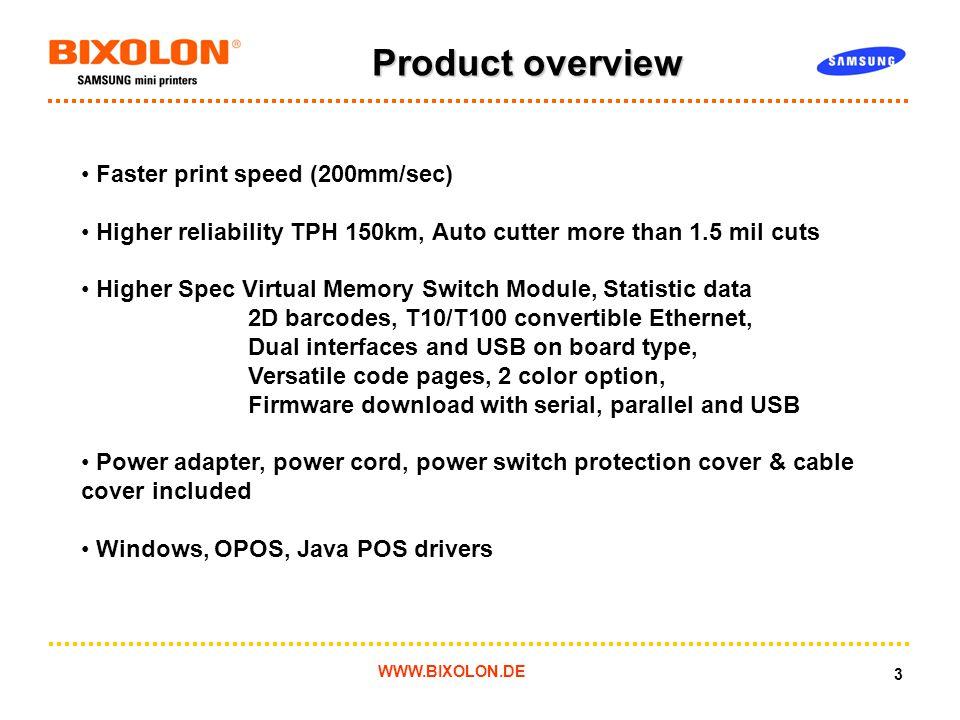 June New SRP-350 plus BIXOLON Samsung Thermal receipt