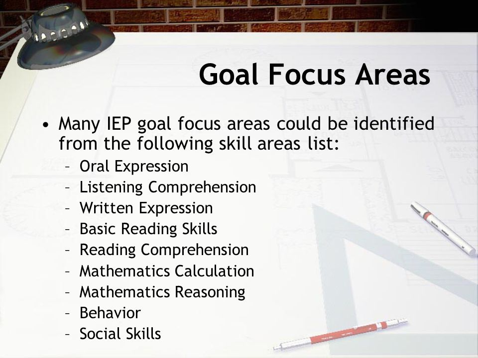 From Gobbledygook To Clearly Written Annual IEP Goals Nov
