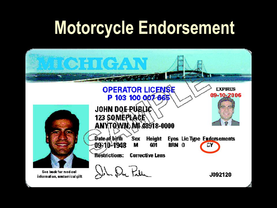 June 23, 2004, PA 163 of Legislature enacted the new Motorcycle Registration Law.