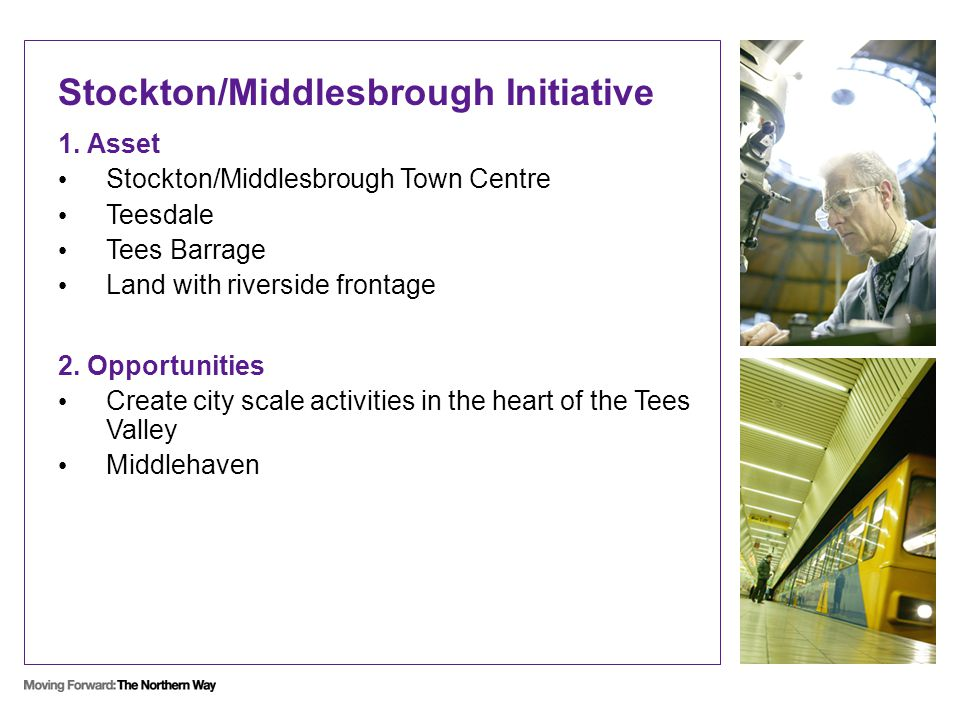 Stockton/Middlesbrough Initiative 1.