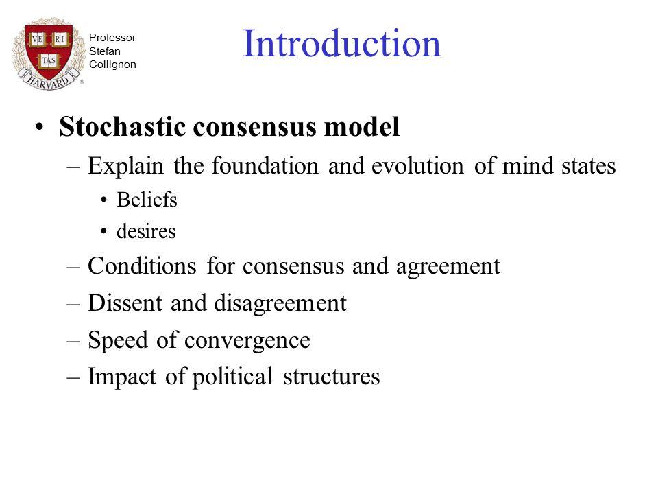 consensus model sociology