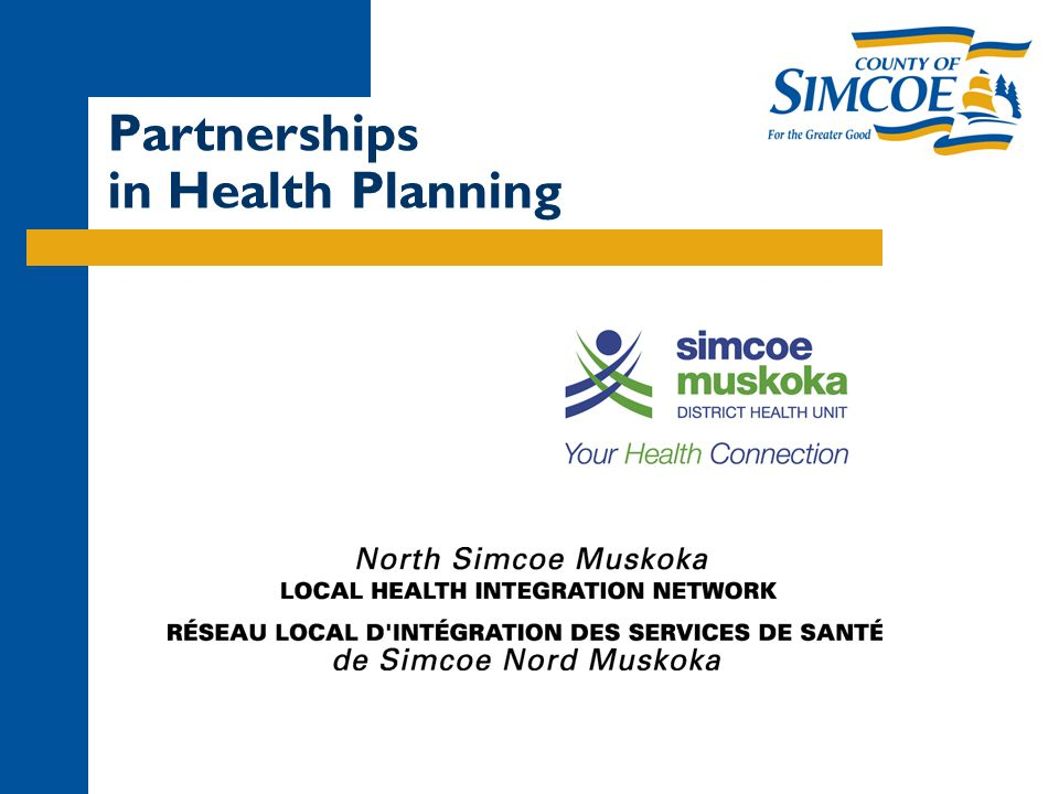 Partnerships in Health Planning