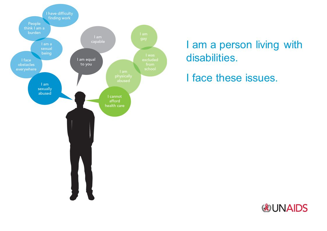 I am a person living with disabilities. I face these issues.