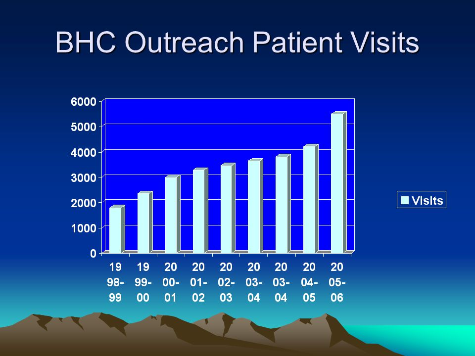 BHC Outreach Patient Visits