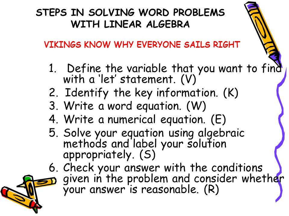 solving equation problems