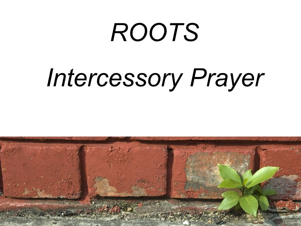 ROOTS Intercessory Prayer