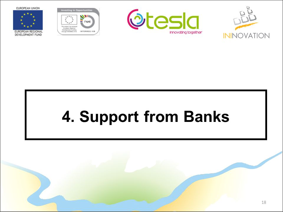 18 4. Support from Banks