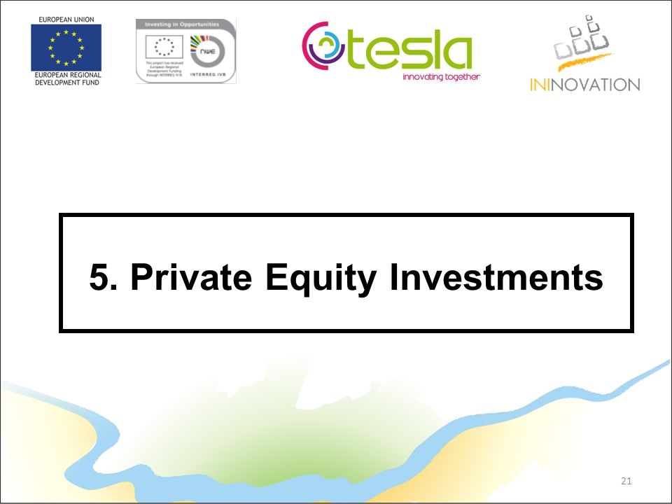 21 5. Private Equity Investments