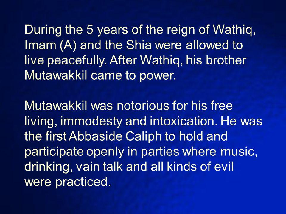 Name : Ali Title : an-Naqi (The Pure) and al-Hadi (The Guide