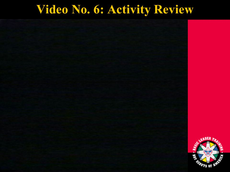 23 Video No. 6: Activity Review