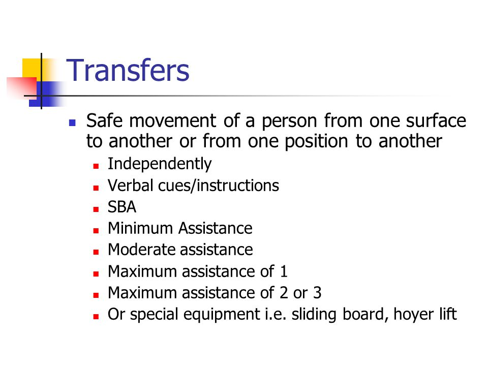Body Mechanics Transfer Techniques Body Mechanics Efficient Use
