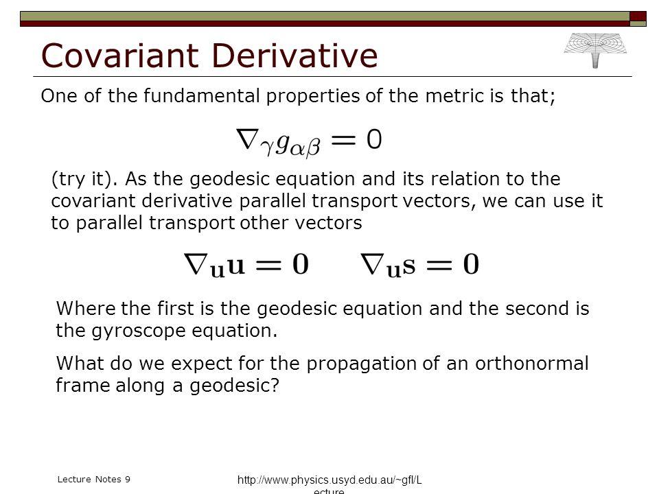 General Relativity Physics Honours 2006 A/Prof  Geraint F