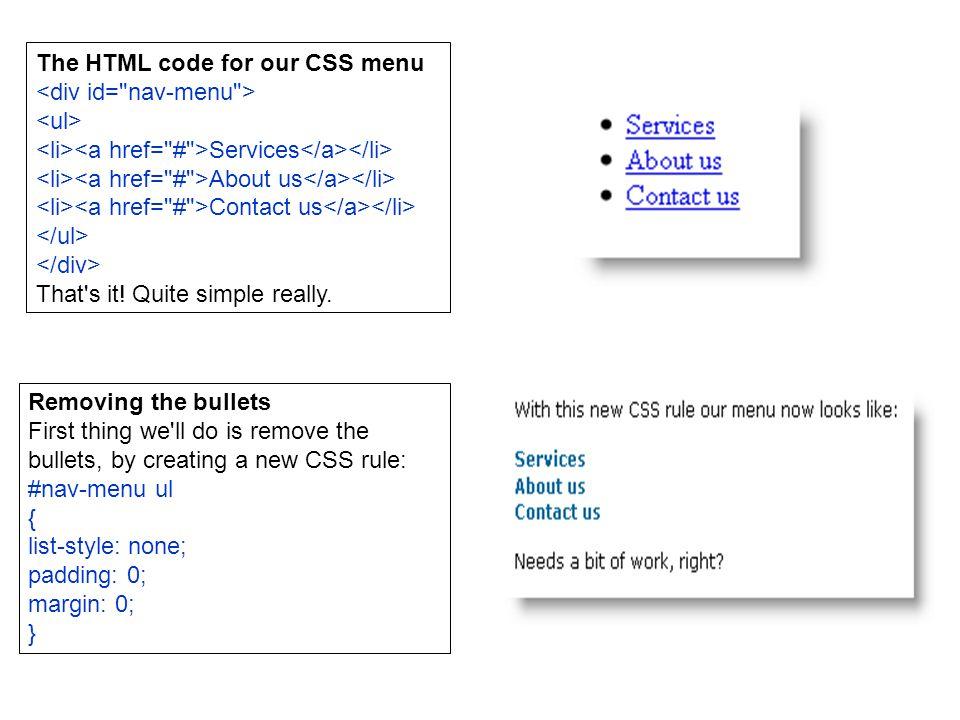 Advance CSS (Menu and Layout) Miftahul Huda  CSS Navigation