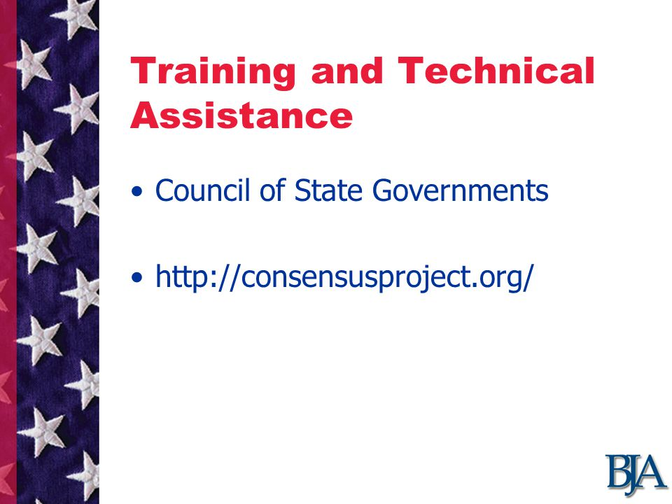 Training and Technical Assistance Council of State Governments