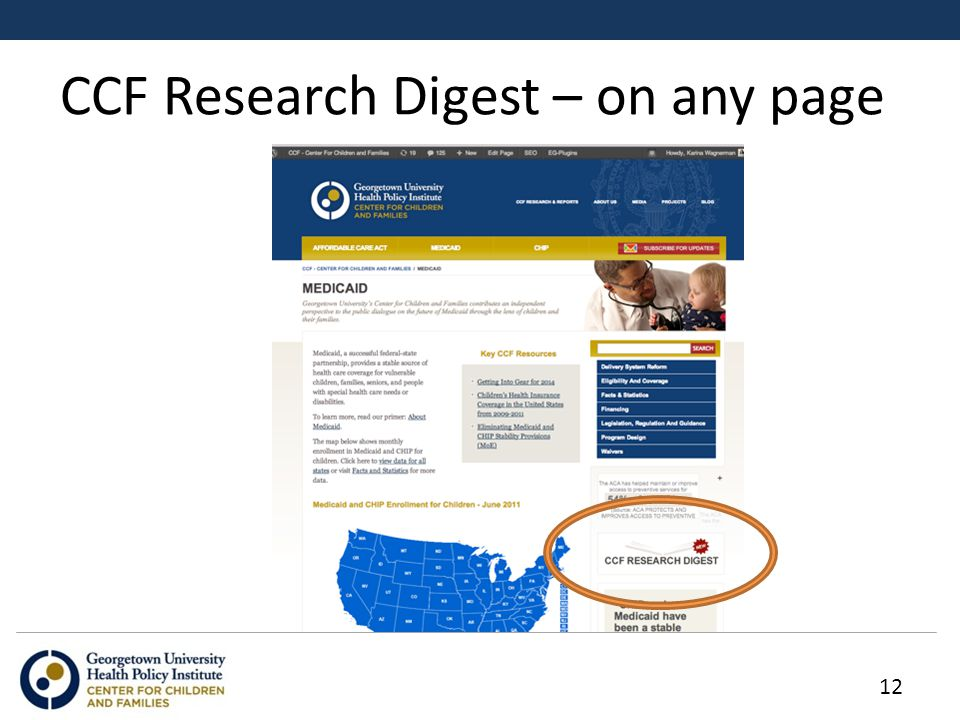 CCF Research Digest – on any page 12