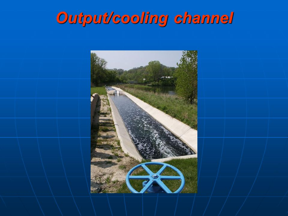 Output/cooling channel
