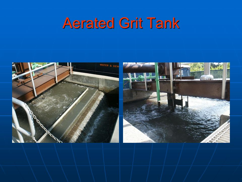 Aerated Grit Tank