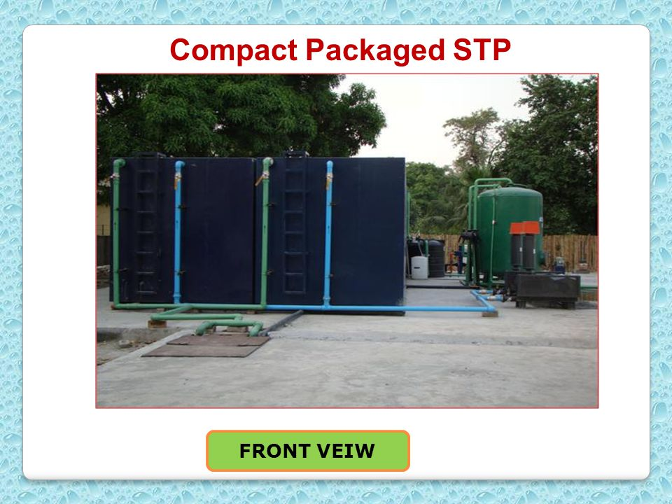 Compact Packaged STP FRONT VEIW