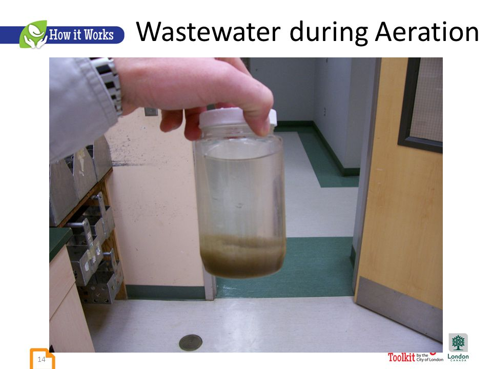 Wastewater during Aeration 14