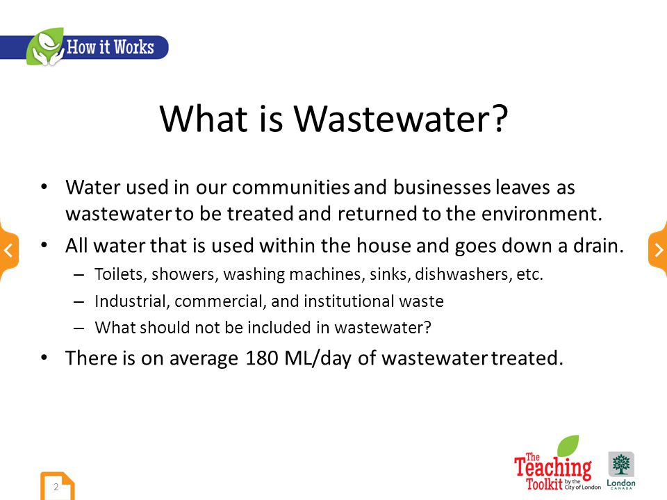 What is Wastewater.