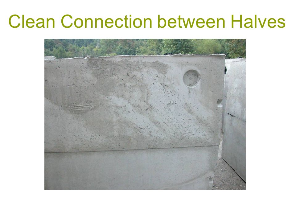 Clean Connection between Halves