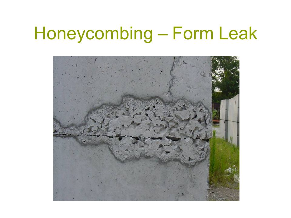 Honeycombing – Form Leak