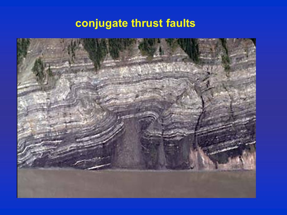 conjugate thrust faults
