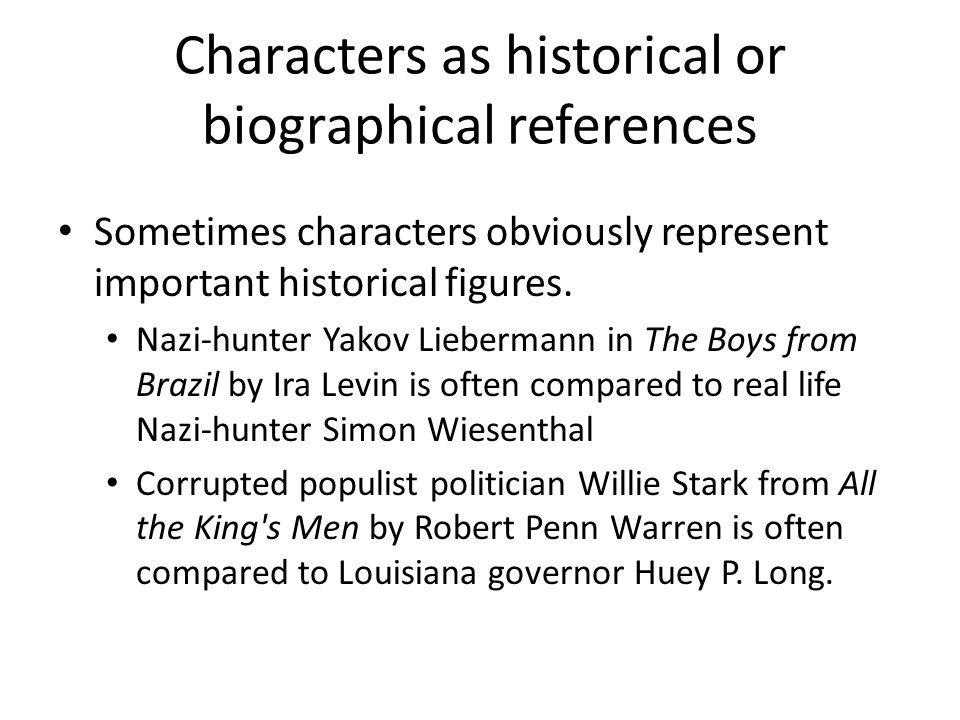 willie stark character analysis