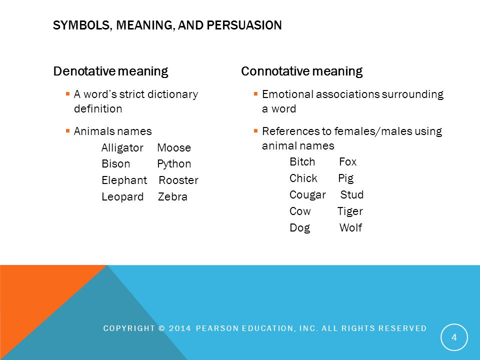 Chapter 7 Language And Persuasion Copyright 2014 Pearson Education