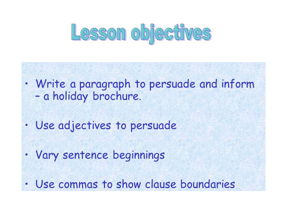 use brochure in a sentence
