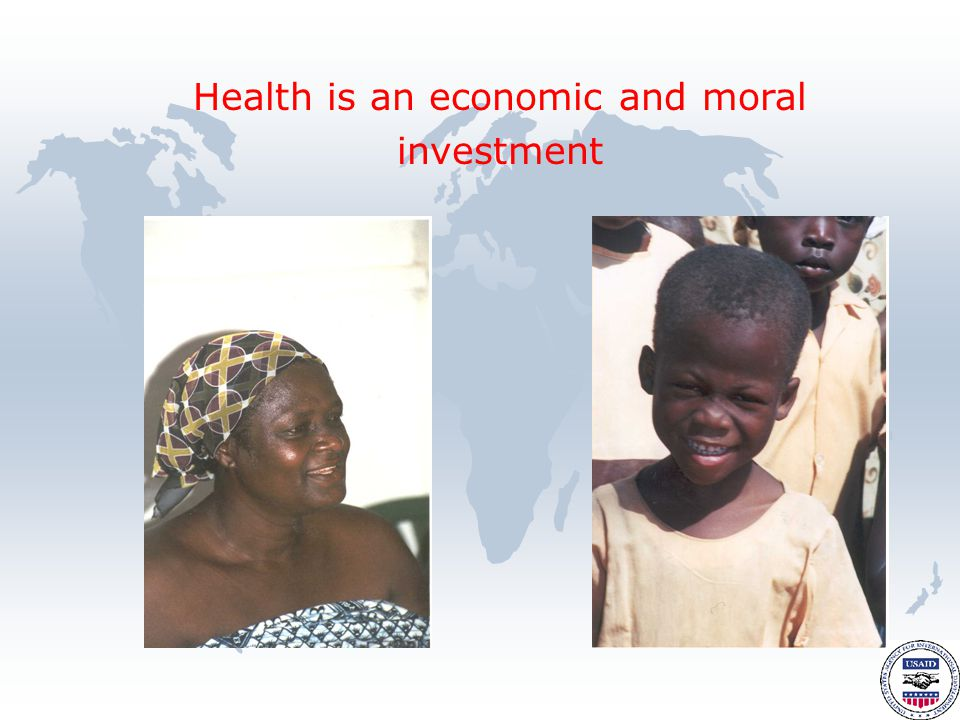 Health is an economic and moral investment
