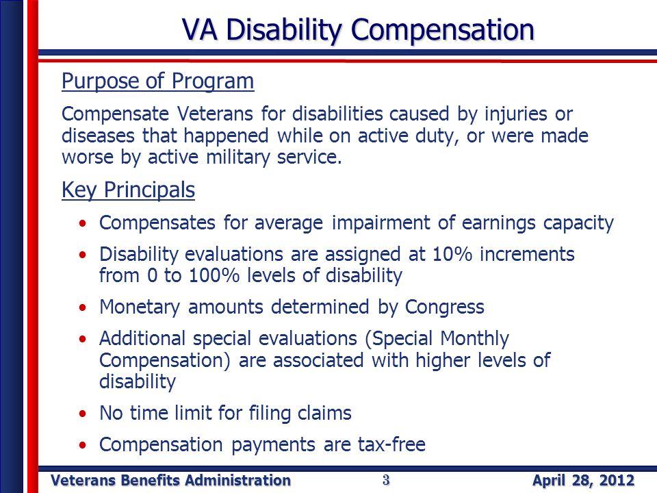 Veterans Benefits Administration Veterans Benefits Administration