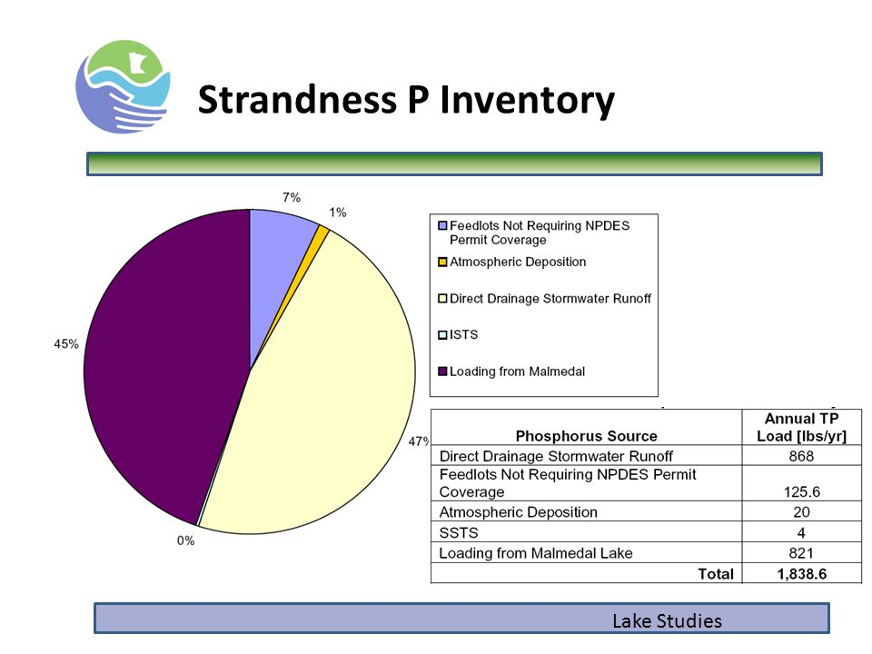 Lake Studies Strandness P Inventory