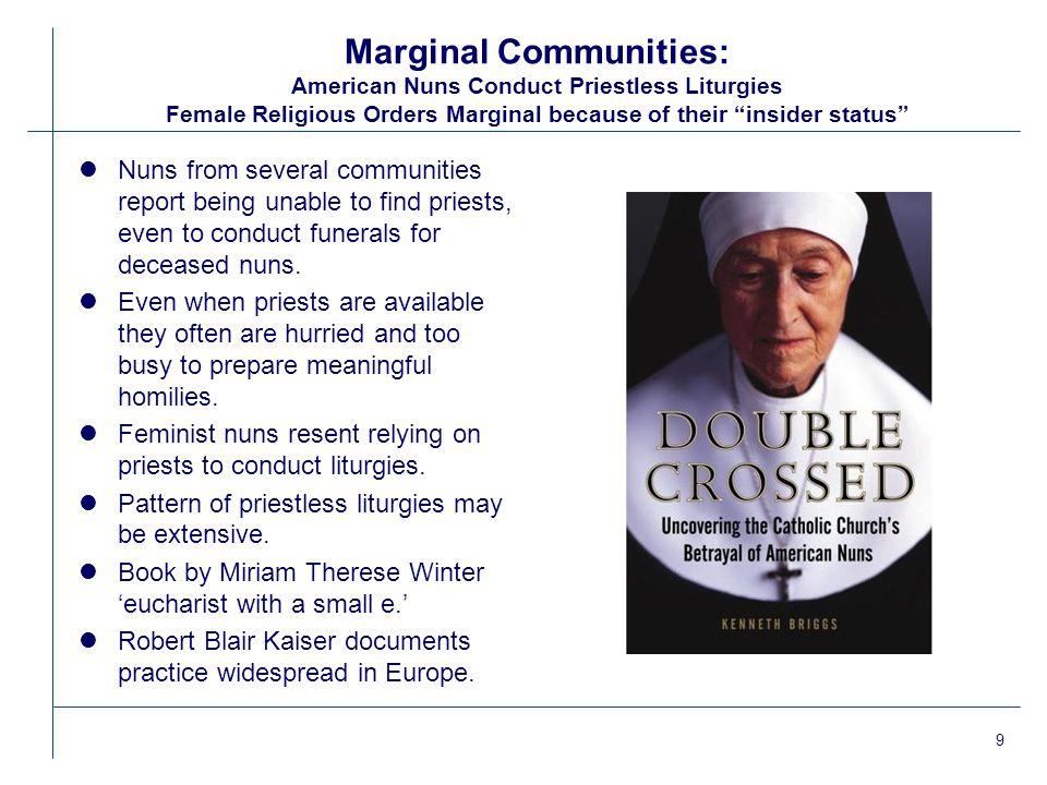 1 RCC-1006 Imagining New Ways of Being Catholic: The Underground